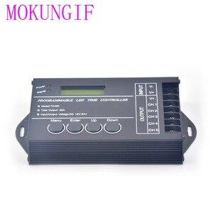Image 4 - Contrôleur de minuterie RGB TC420 TC421, LED, avec wifi DC12V 24V, 5 canaux, sortie totale 20a Programmable, Anode commune