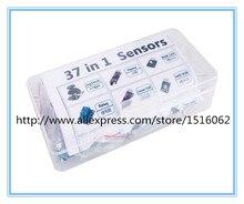 Бесплатная Shippiing37 в 1 коробка Датчика Комплект Для Arduino Начинающих брендов на складе хорошее качество низкая цена Малины PiFactory прямой продажа