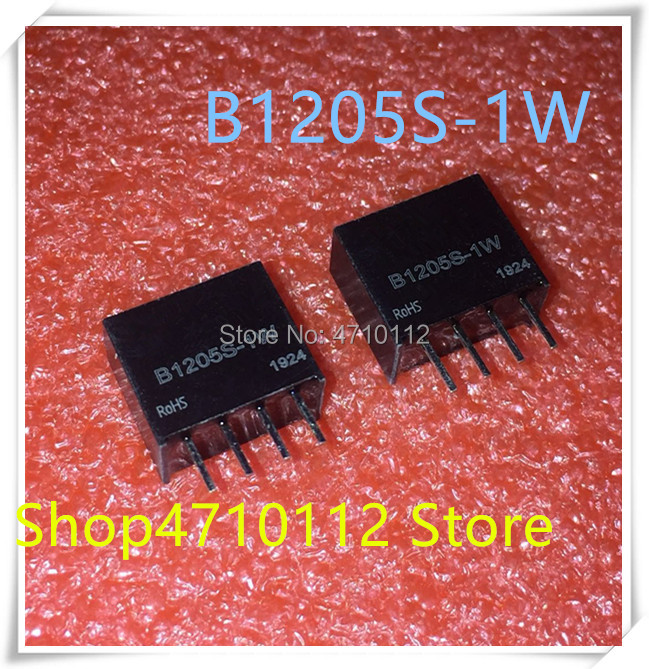 NEW 10PCS/LOTS B1205S-1W B1205S 1W B1205 DIP-4 12V To 5V DC-DC Isolated Power Module