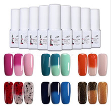 UV gel nail polish color changing UV LED Color Changing Mood Chameleon Gel Polishes for Nails