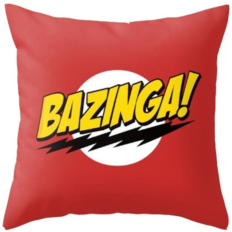 18 x18 The Big Bang Theory Cute Cartoon Polyester Decorative Throw Pillow Cover Cushion Cover Pillowcase