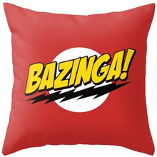The Big Bang Theory Cute Cartoon Polyester Decorative Throw Pillow Cover