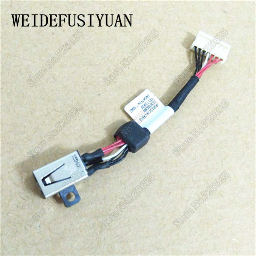 DC Power Jack with Wire Harness for  for DELL XPS 15 9530 9550 Precision M3800