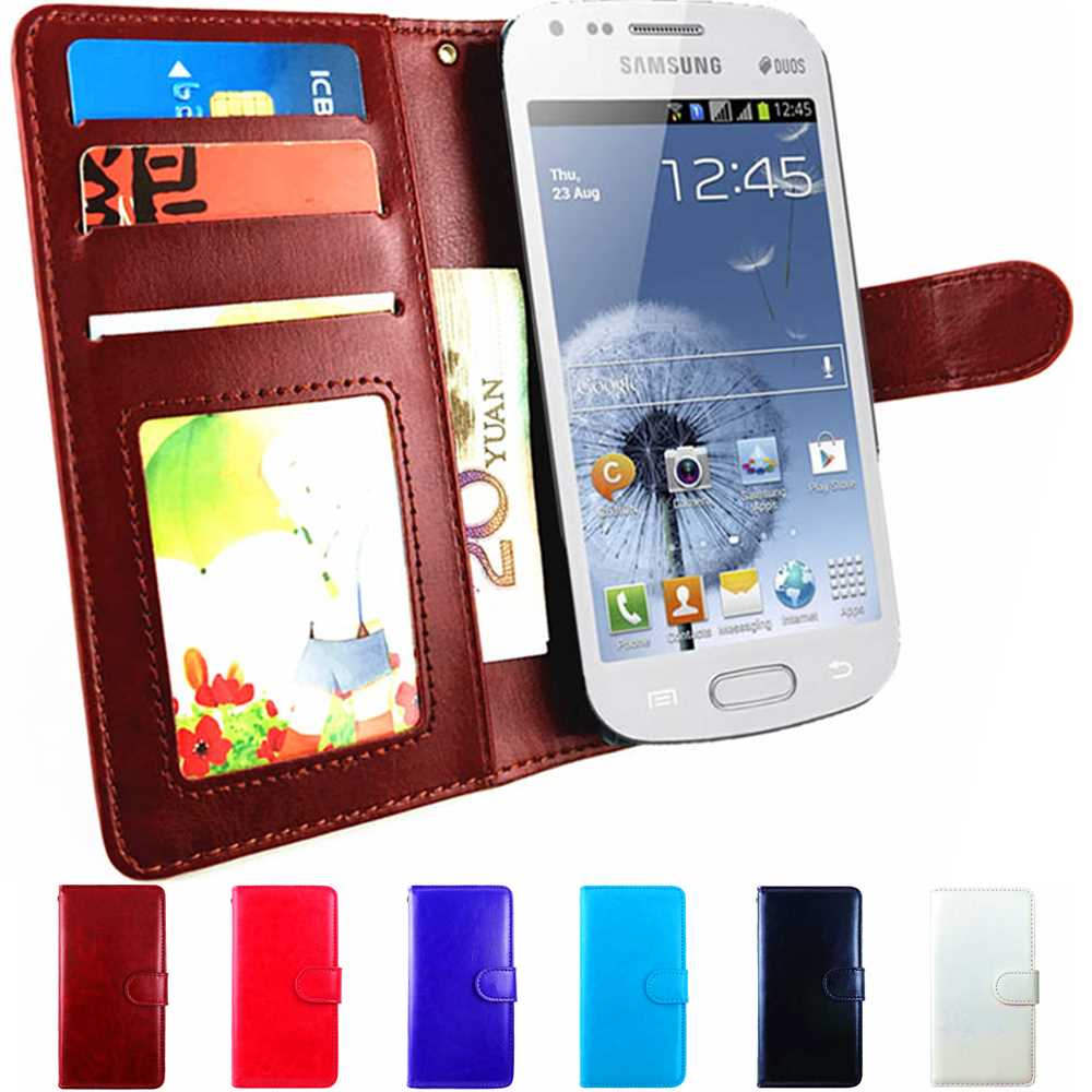 flip wallet leather case for samsung galaxy s3 mini case. Black Bedroom Furniture Sets. Home Design Ideas