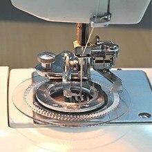 1 pieza diseño redondo puntada prensatelas para pies se adapta a máquinas de coser de caña baja AA7042-2