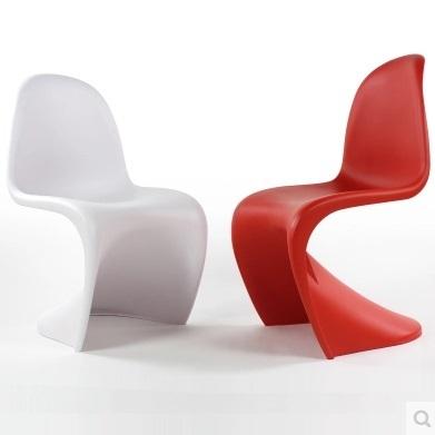 Modern Dining Room Plastic Designer Chair Free Shipping