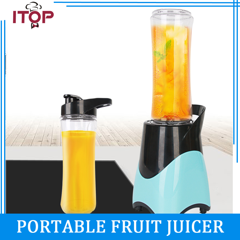 Juice Machine Multifunctional Mini Electricity Juicer Pocket Sports Bottle Blender 220V glantop 2l smoothie blender fruit juice mixer juicer high performance pro commercial glthsg2029