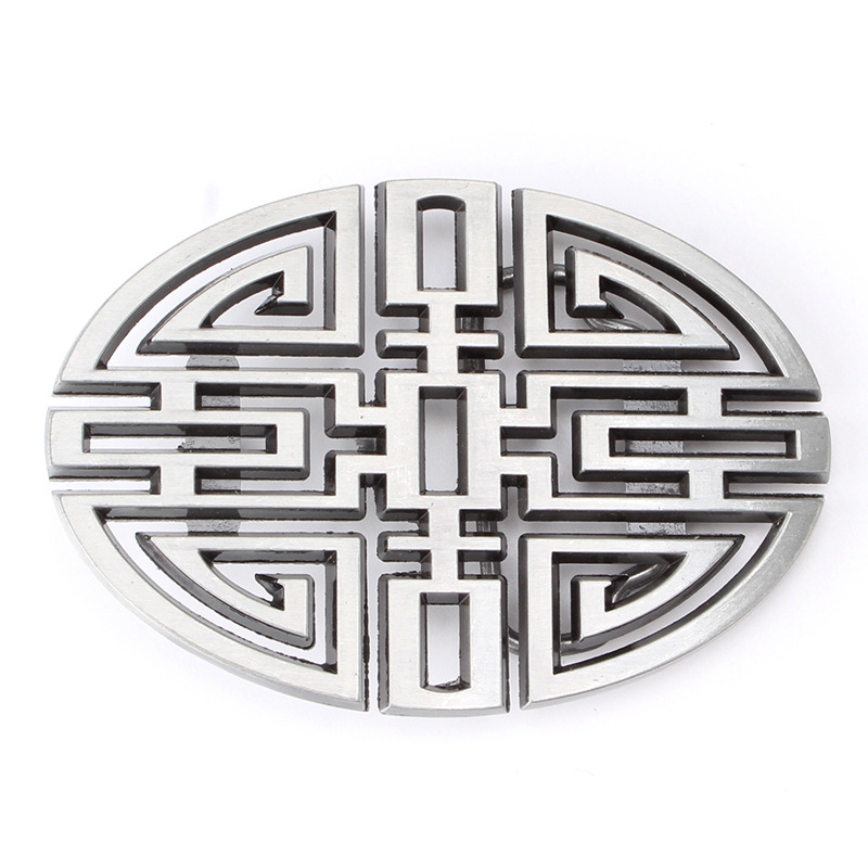Chinese Wind Longevity Belt Buckle