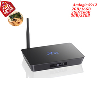 X92 Smart Android 6 0 TV Box Amlogic S912 Octa Core 3GB DDR3 Ram 32GB Rom