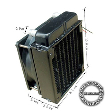80mm Radiator computer CPU cooling water cooler radiator fan cooling system devices
