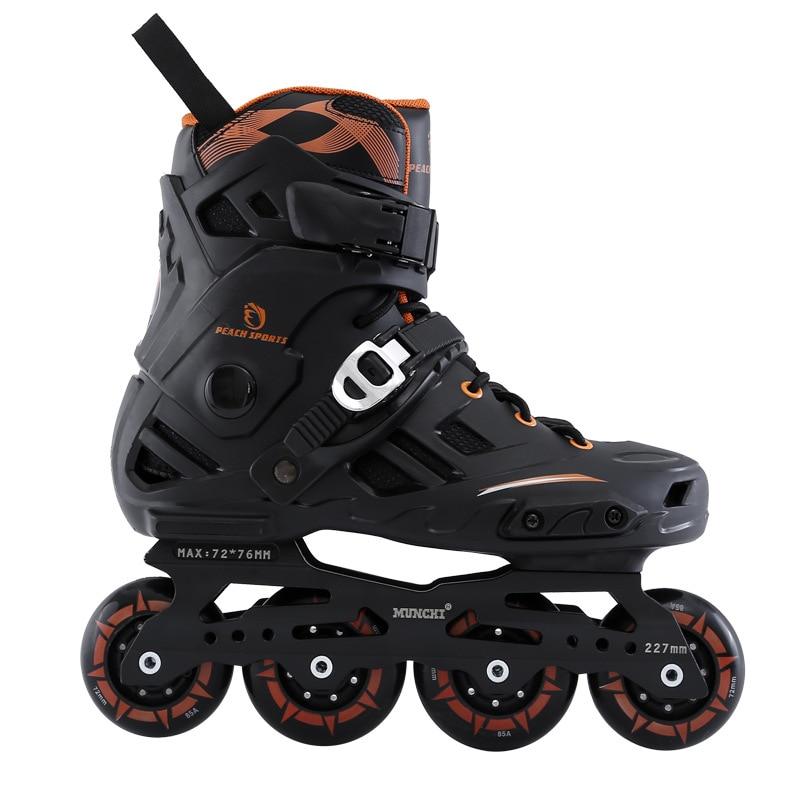 2018 nouveau patin à roulettes professionnel chaussures de patinage à roulettes adultes Patins de Style libre de haute qualité Patins de Hockey sur glace