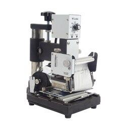 1PC maszyna do tłoczenia na gorąco do karta pcv członek klubu tłoczenie folią na gorąco maszyna brązujący WTJ 90A|Wykrawarka|Narzędzia -