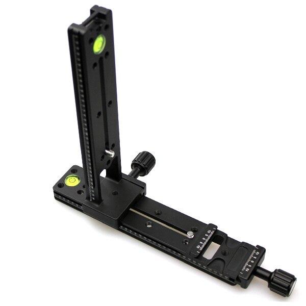 Multi-Purpose FVR-200 Vertical Nodal Slider Clamp Rail for Panorama Macro Arca RRS SUNWAYFOTO Compatible fittest custom l bracket l plate vertical plate for nikon d500 d500 arca swiss rrs lever release clamp compatible