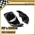 Car-styling para subar bl bp 2004-2008 legado de fibra de carbono cubierta de la luz de niebla del frente en stock