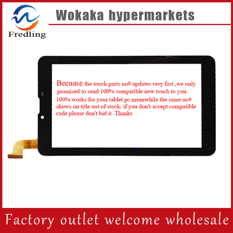 Glass film+7'' touch screen,100% New for hc184104n1-fpc v1 touch panel,Tablet PC touch panel digitizer hc184104n1 new xbtg5230 touch screen touch glass pa n el