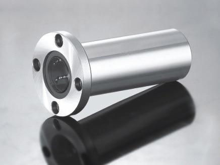LMF40LUU 40 mm Long Circular Flange Type Linear Bearing CNC Parts 42l w025 free shipping long type lmk40 luu 40 60 154mm 40mm square flange long linear bearing for cnc parts
