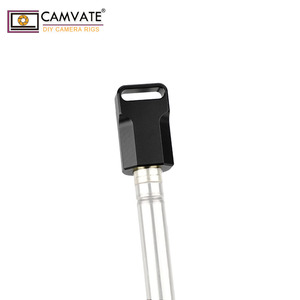 """Image 5 - CAMVATE Universal Light Pole Adapter Connector With 2pcs 1/4"""" 20 Mounting Screws For Camera Monitor Cage Light Pole Connection"""