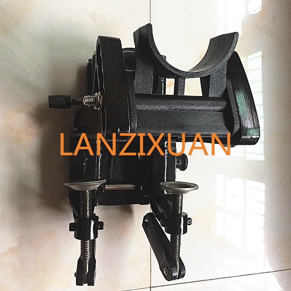 Free shipping parts for Hangkai 2 stroke 6.0 HP Shunfeng HUASHENG outboard aluminum mounting bracket free shipping hangkai 2 stroke 4 hp outboard engines crankshaft