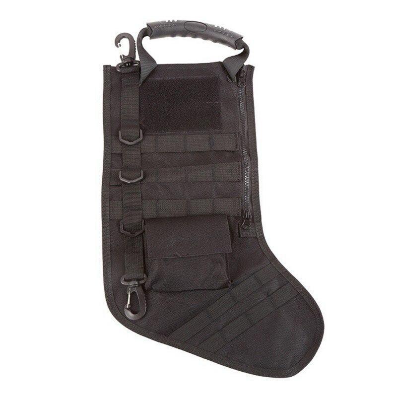 Molle Navidad medias bolsa dump gota bolsa de almacenamiento de utilidad Militar combate Caza revista Bolsas de tela
