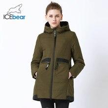 574d279ec289 ICEbear 2019 new mid-longueur veste pour femme printemps décontracté veste pour  femme coupe-
