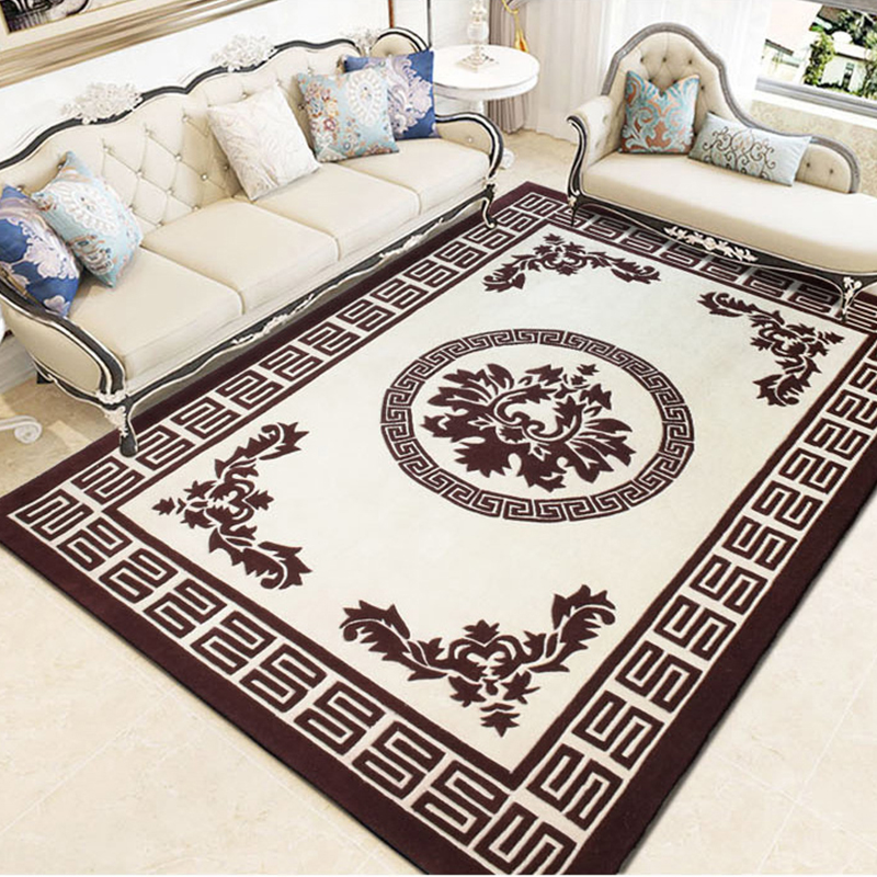 New European Modern Wool Carpets For Livingroom, Modern Bedroom Living Room Rugs, Custom Carpets Nordic Decoration Home