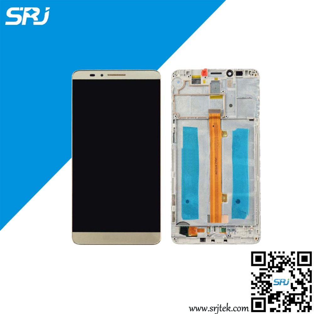 ФОТО Original 6.0'' For Huawei Ascend Mate 7 Touch Screen LCD Display Monitor Digitizer Glass Sensor Full Assembly with Frame