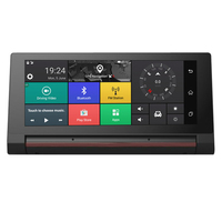 HD 7 Inch Car GPS Navigation Dash Cam Bluetooth FM AVIN 1080P Wifi Maps Free Updates