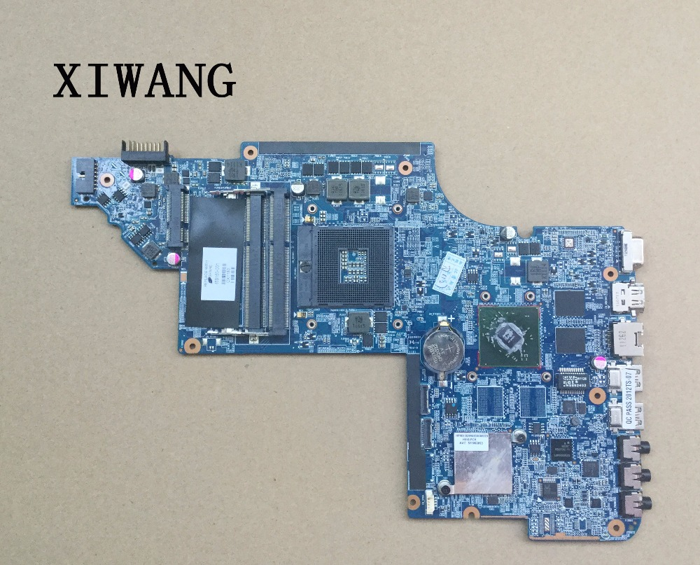 free shipping Original laptop motherboard 659150-001 for HP Pavilion DV6-6000 DV6 motherboard DDR3 HD6470M 1G tested OK цена
