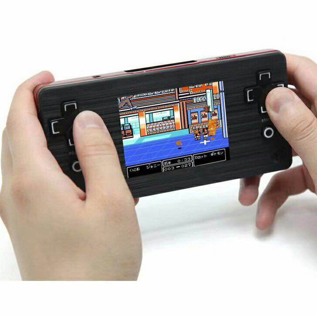 Video Game 2.8 inch Retro Portable 8 Bit  TV Family Handheld Video Games Console Players  2pcs Cards Best Gift for Child Player