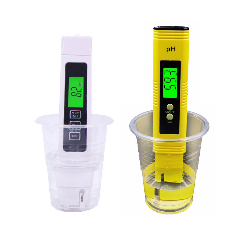 Portable 4 in1 LCD Digital TDS EC PPM Water Quality Meter Tester+PH Pen Filter Purity Measuring Tool with backlight 40%off 0 1000 ppm pen type tds meter pocket digital tds water quality analysis laboratory electrical lcd ppm value temperature tester
