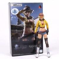 Original Play Arts KAI Final Fantasy XV 15 Cindy Aurum PVC Action Figure Collectible Model Toy 25cm