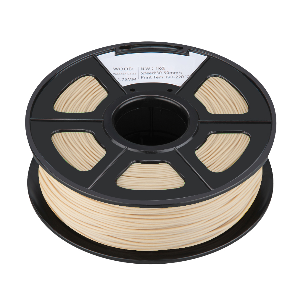 3D printer filament Wood 1.75mm filament printing filaments 1kg for MarkerBot flsun 3d printer big pulley kossel 3d printer with one roll filament sd card fast shipping