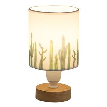 Camera da letto lampada da tavolo in tessuto lampada da tavolo con interruttore Nordic creativo di nozze caldo hotel da comodino decorativa lampada da tavolo mx4251713