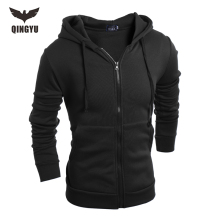 Hot 2017 New Arrival Gary Cotton Men Winter Hoodies Villus Male Sweatshirts High Quality zipper Hooded Brands Men's Coat XXL