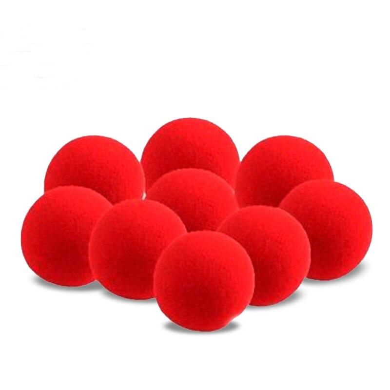 Free shipping 10pcs Sponge Ball 4.5cm Ding Dong magic ...