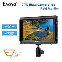 E7S 7 Inch monitor 4k dslr On Camera Field DSLR Monitor Small Full HD 1920x1080 IPS Video HDMI for Canon Nikon Sony DSLR Camera lilliput a7s 7 ultra slim ips full hd 1920 1200 4k hdmi on camera video field monitor for canon nikon sony dslr camera video