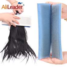 Alileader Hair Drawing Mat for Bulk Brazilian Indian Extension Hackle Styling Tools 33cm*9cm/30cm*9cm/27cm*9cm/24cm*9cm