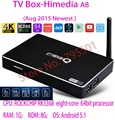 2016 Newest, HIMEDIA A8 Octa Core / 8 Cores Chips 64 Bit Android TV Box, TV Network player 3D 4K UHD Set Top Box 1G RAM 8G ROM