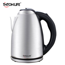 TintonLife Stainless Steel Electric Kettle 2.0L 1500W 220V Heat Preservation Anti-dry Protection Auto-off Kettle High Quality