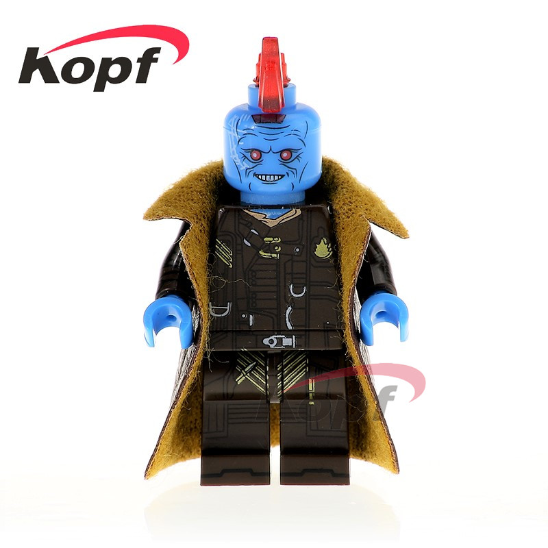 Single Sale Super Heroes Yondu Predator Hatsune Miku Alien Drax The Destroyer Bricks Building Blocks Children Gift Toys PG1177 single sale building blocks super heroes bob ross american painter the joy of painting bricks education toys children gift kf982