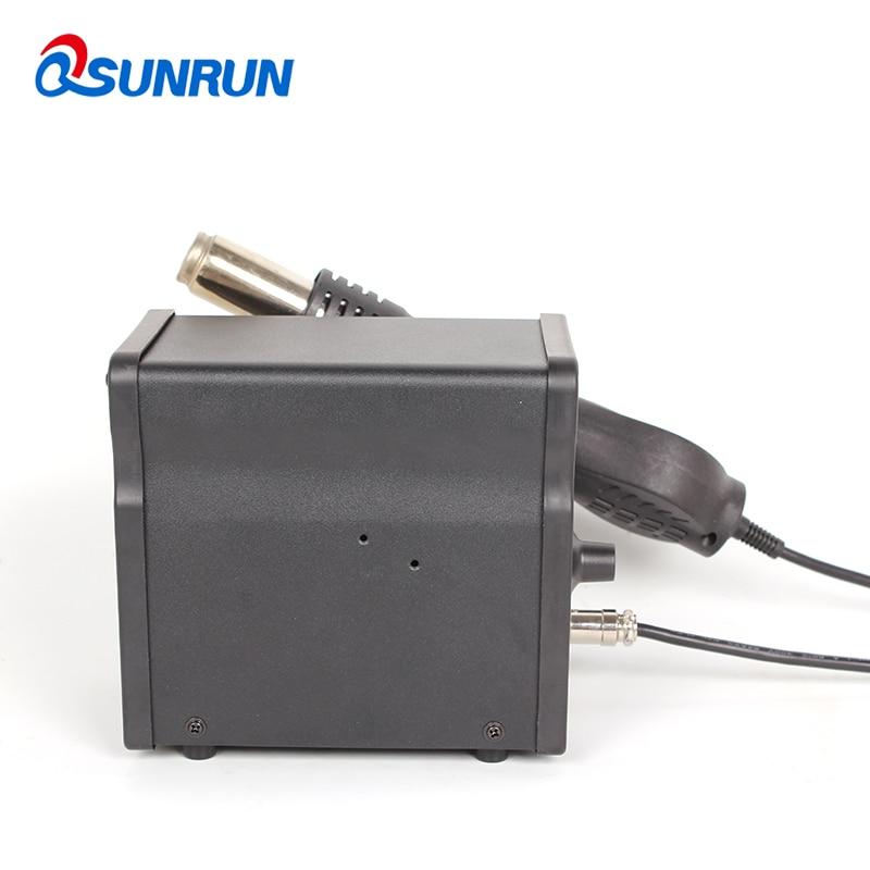 Tools : 858D  110V 220V 700W ESD BGA 858D Plus Hot Air Soldering amp Rework Station LED Digital Heat Gun Desoldering Station
