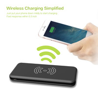 ALLPOWERS Wireless Charger 8000mAh Power Bank External Battery Charger Pack QI Wireless Charging Pad for Samsung Galaxy Note 8