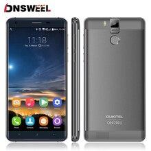 Оригинал K6000 Oukitel Pro 5.5 «FHD MTK6753 Окта основные Android 6.0 Мобильный Сотовый Телефон 16MP 3 ГБ + 32 ГБ 4 Г LTE Смартфон Отпечатков Пальцев