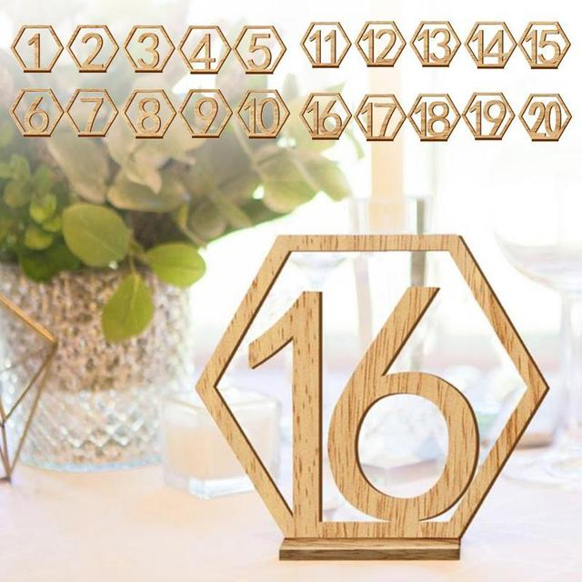 Wedding Table Number Wood Signs Wedding Table Cards Wedding - Restaurant table signs