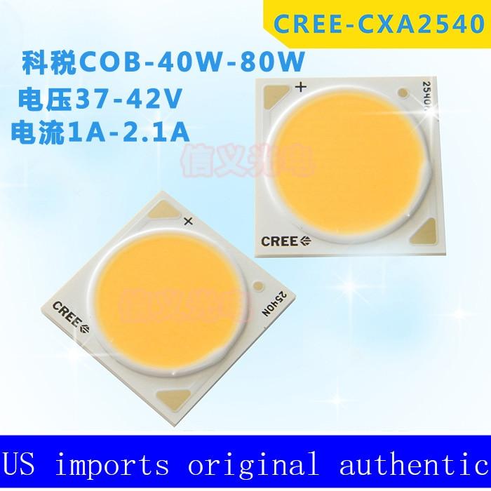 Orijinal Cree CXA2540 İsti Ağ 3000K 60-800W COB - LED işıqlandırma - Fotoqrafiya 1