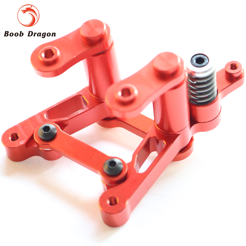 Baja CNC Alloy Steering Set for HPI Baja 5b ss Rovan King Motor king motor chrome aluminum alloy frame fire chassis fits hpi baja 5b ss 2 0 5t 5sc king motor rovan and other baja