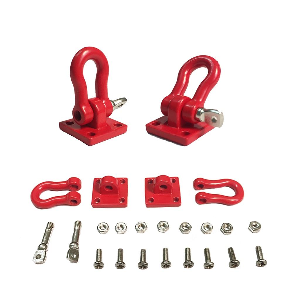 RC Rock Crawler 1:10 Accessory Tow Hook For Axial Wraith SCX10 90046 90047 D90 D110 TF2 Tamiya CC01 Traxxas TRX-4