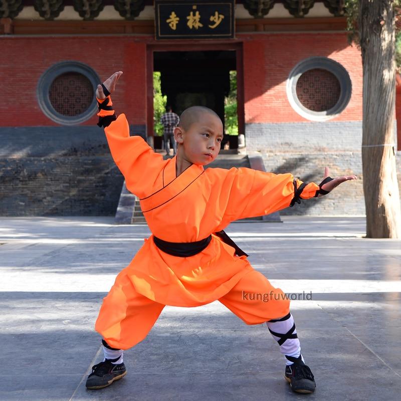 Δημοφιλή πορτοκαλί Polyester Shaolin - Αθλητικά είδη και αξεσουάρ - Φωτογραφία 2