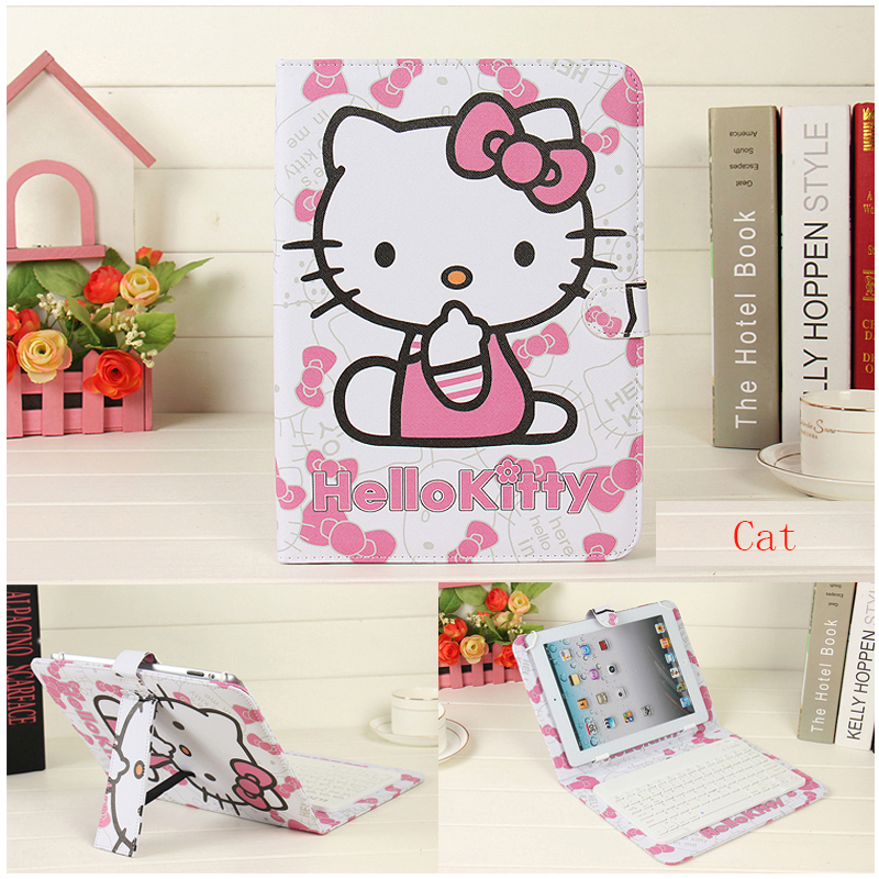 Leather cases For iPad 2 3 4 5 6 Air 1 2 9.7 inch Wireless Bluetooth Keyboard Case Ultra Slim Stand Clamshell Tablet Cover+pen