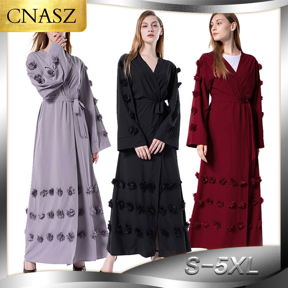 Kaftans For Women Plus Size Long Dress Hijab Trajes Arabes Mujer Vetment Femme Hijab Vestidos Longos Fashion Dubai Abaya